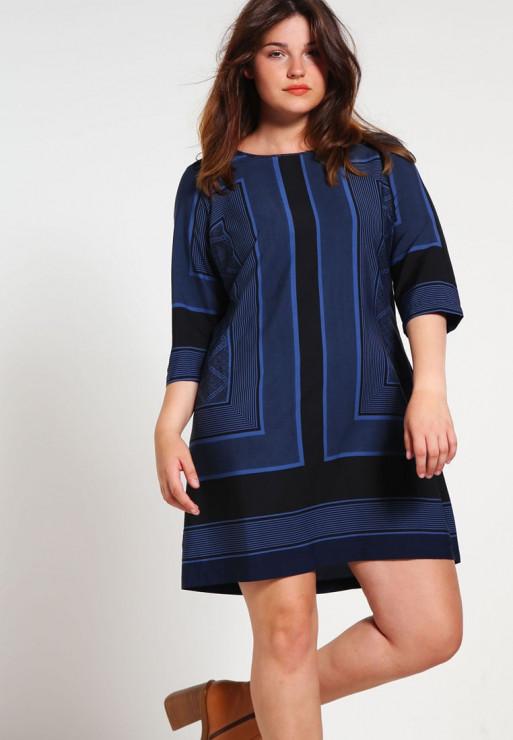 Sukienka Junarose, Zalando.pl, 169 zł - 5 sposobów na udane stylizacje z modnymi sukienkami dla puszystych