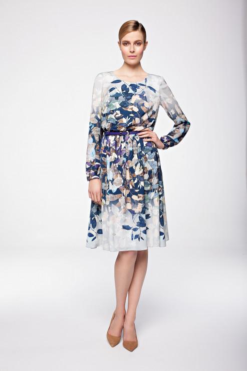 Kwiecista sukienka Lame De Femm 429 zł - Sukienka w kwiaty: kobieca propozycja na jesień