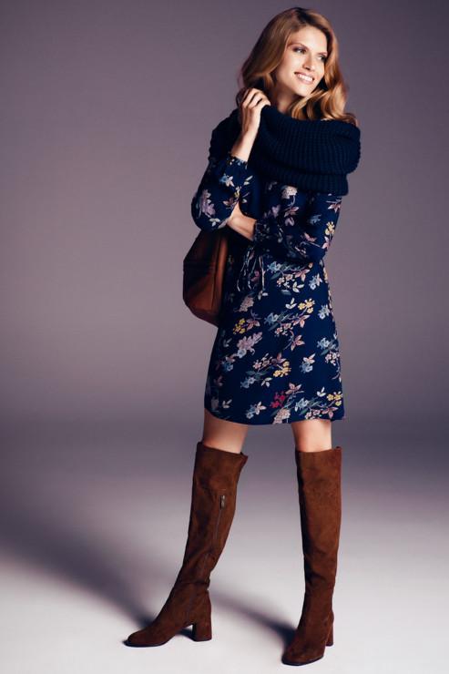 Sukienka w kwiaty Greenpoint 99,00 zł - Sukienka w kwiaty: kobieca propozycja na jesień
