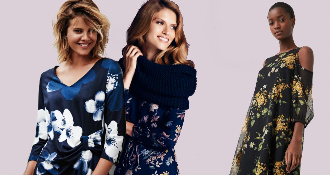 Sukienka w kwiaty - Sukienka w kwiaty: kobieca propozycja na jesień