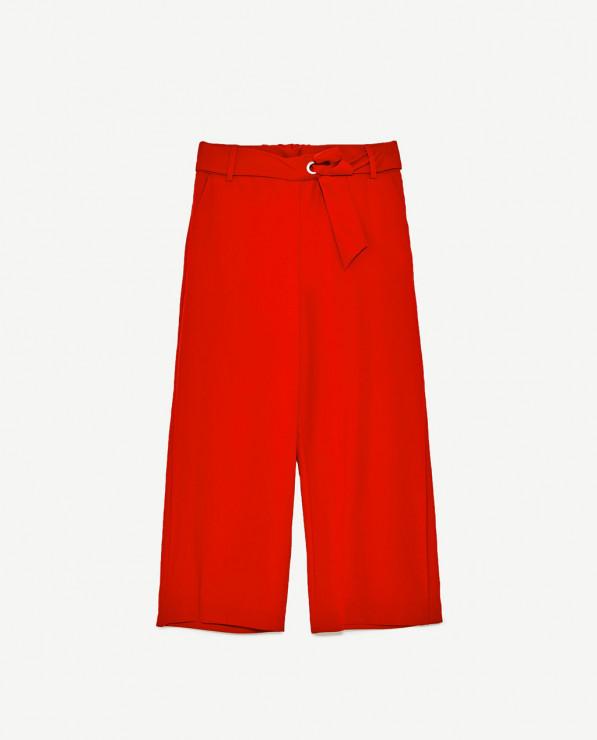 Spodnie - 89,90 zł, Zara - Wiosenny trend - szerokie spodnie