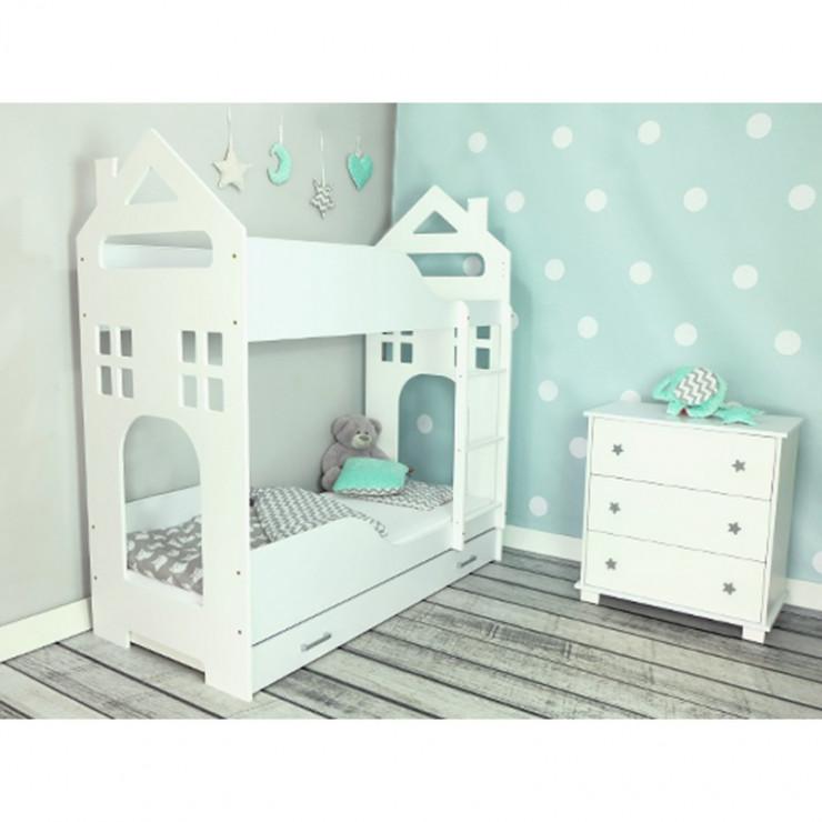 łóżko Piętrowy Domek Niezwykle łóżka Dla Dzieci