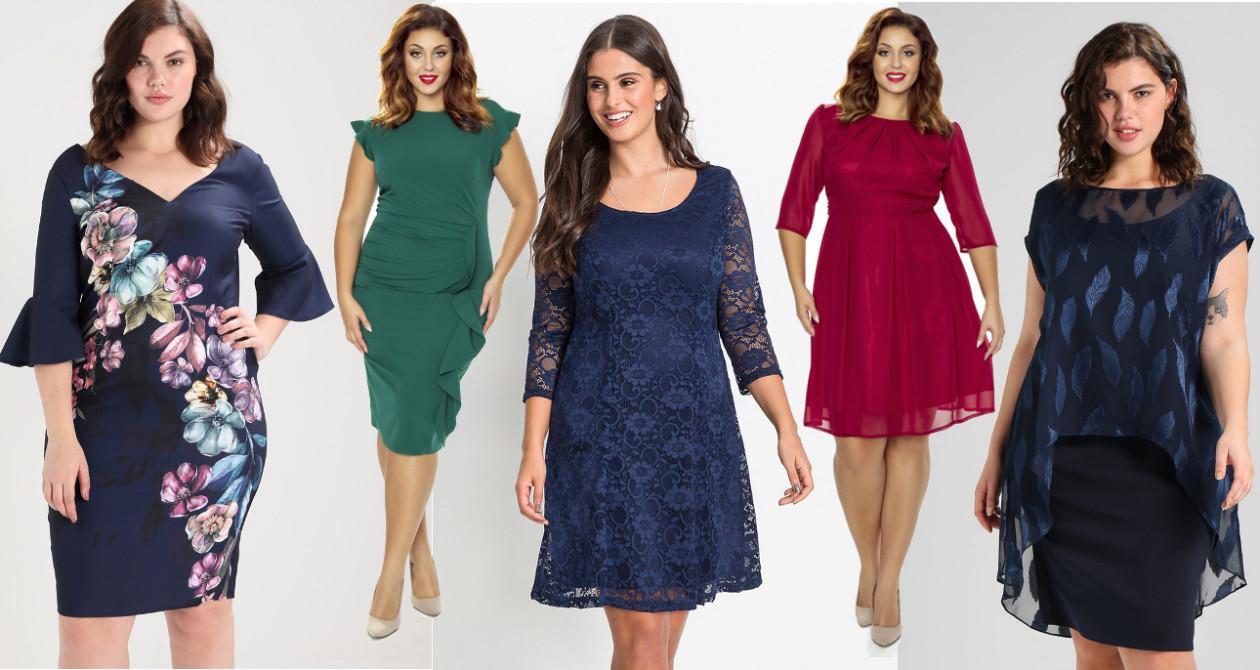 f95e06f910 Najpiękniejsze sukienki do rozmiaru XXL - Najpiękniejsze sukienki na święta  w rozmiarze XXL