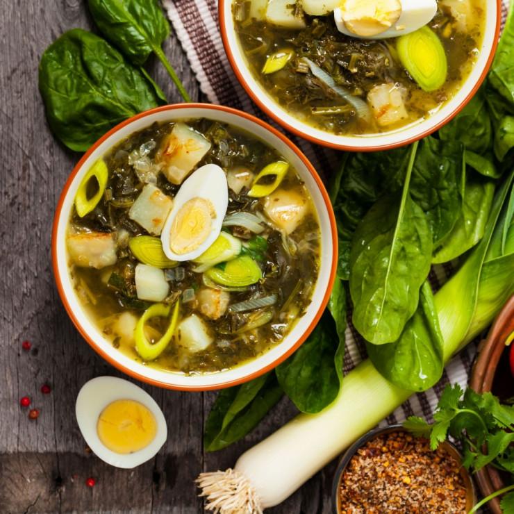 Rosyjski barszcz zielony - Barszcz nie tylko czerwony – nieznane oblicza świątecznej zupy