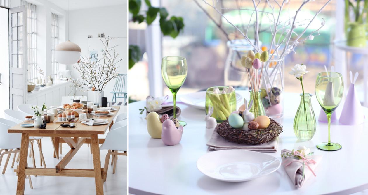 Wielkanocny stół - Jak udekorować stół wielkanocny - najpiękniejsze aranżacje