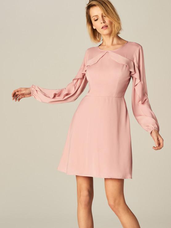 9dfe7c45fd59 Sukienka z ozdobnymi falbanami - 119