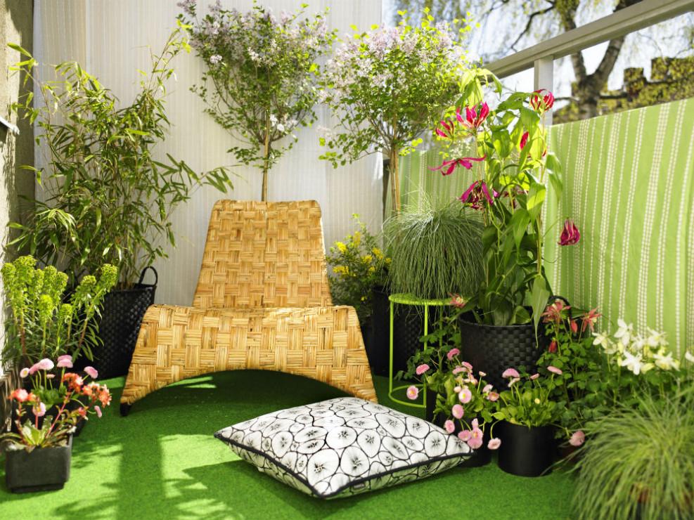 Miniaturowy Ogród Na Balkonie Jak Urządzić Mały Balkon