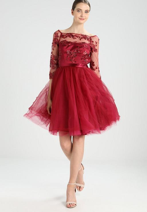 08a466a177 Sukienka Z Tiulową Spódnicą 32175 Z 429 Zł Chi Chi London