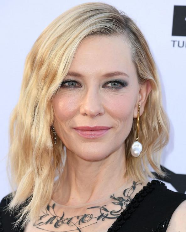 Miękkie Fale Ala Cate Blanchett Fryzury Na Wesele Dla