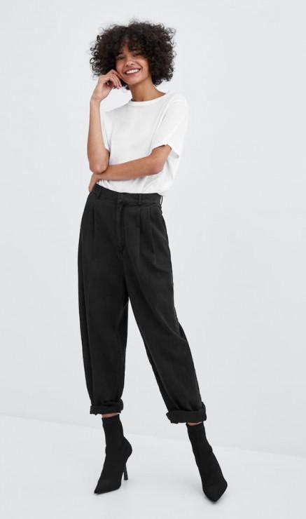 Koszulka z kolekcji Basic, ZARA, 29, 99zł - Sprawdzona baza damskiej garderoby. Zainwestuj w klasykę i zawsze wyglądaj pięknie!