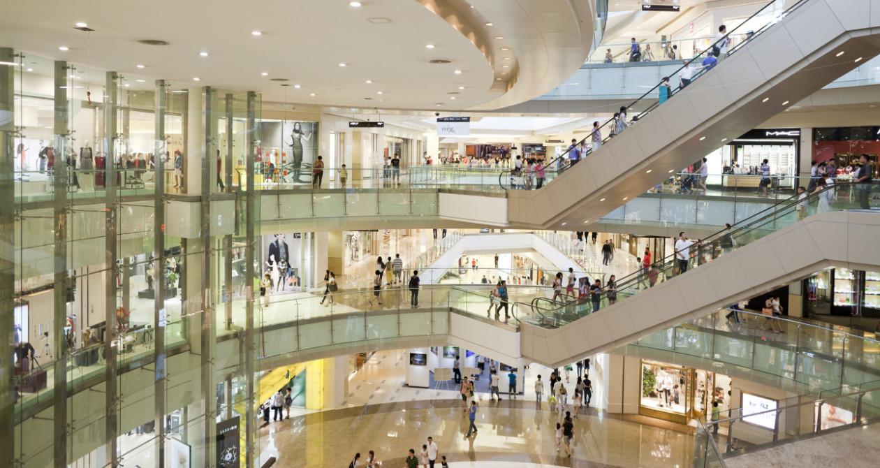 Centrum handlowe - Uważaj na zarazki w centrach handlowych. Gdzie jest ich najwięcje?