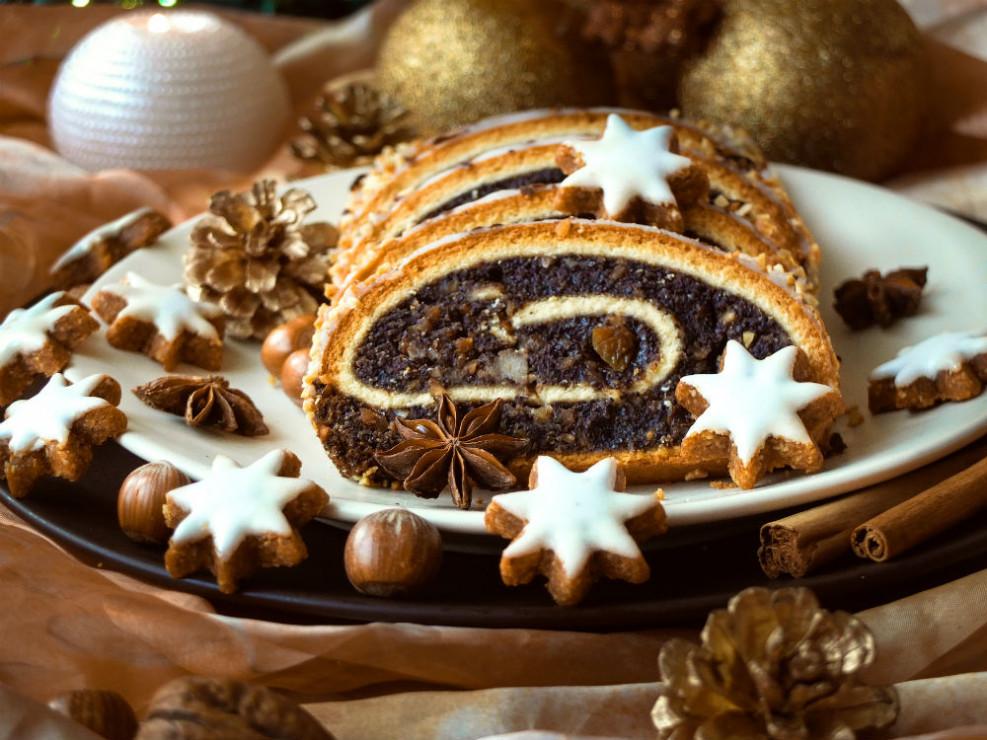 Makowiec zawijany - Makowiec - 4 najlepsze świąteczne przepisy