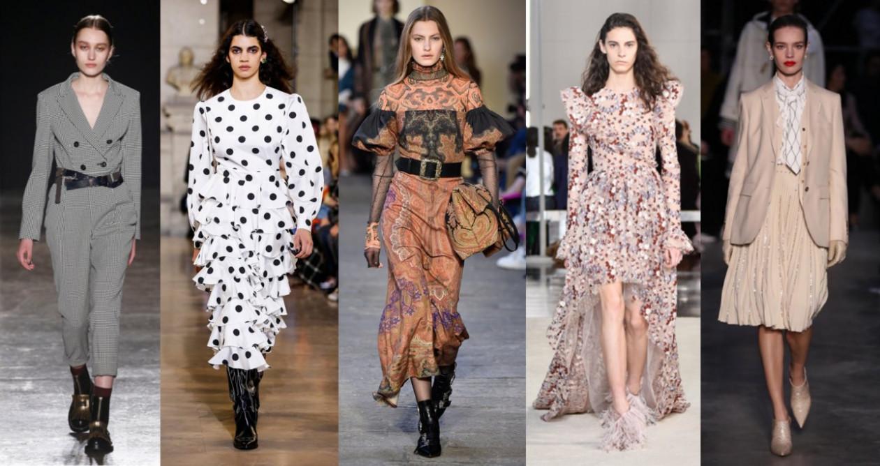TRENDY WIOSNA: 5 stylizacji z sieciówek - Trendy wiosna 2019 - 5 stylizacji z sieciówek inspirowanych pokazami mody