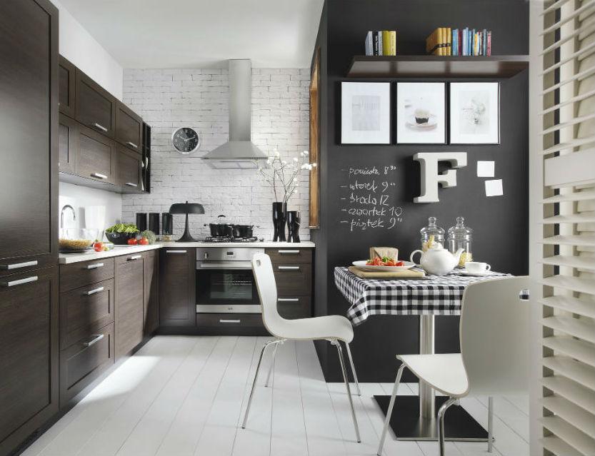 Nowoczesna kuchnia  6 pomysłów na modną aranżację  Claudia -> Kuchnia Nowoczesna I Retro