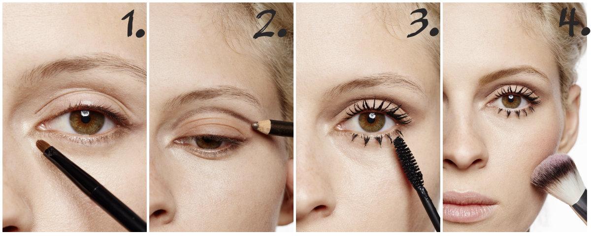 Makijaż W Stylu Twiggy Claudia
