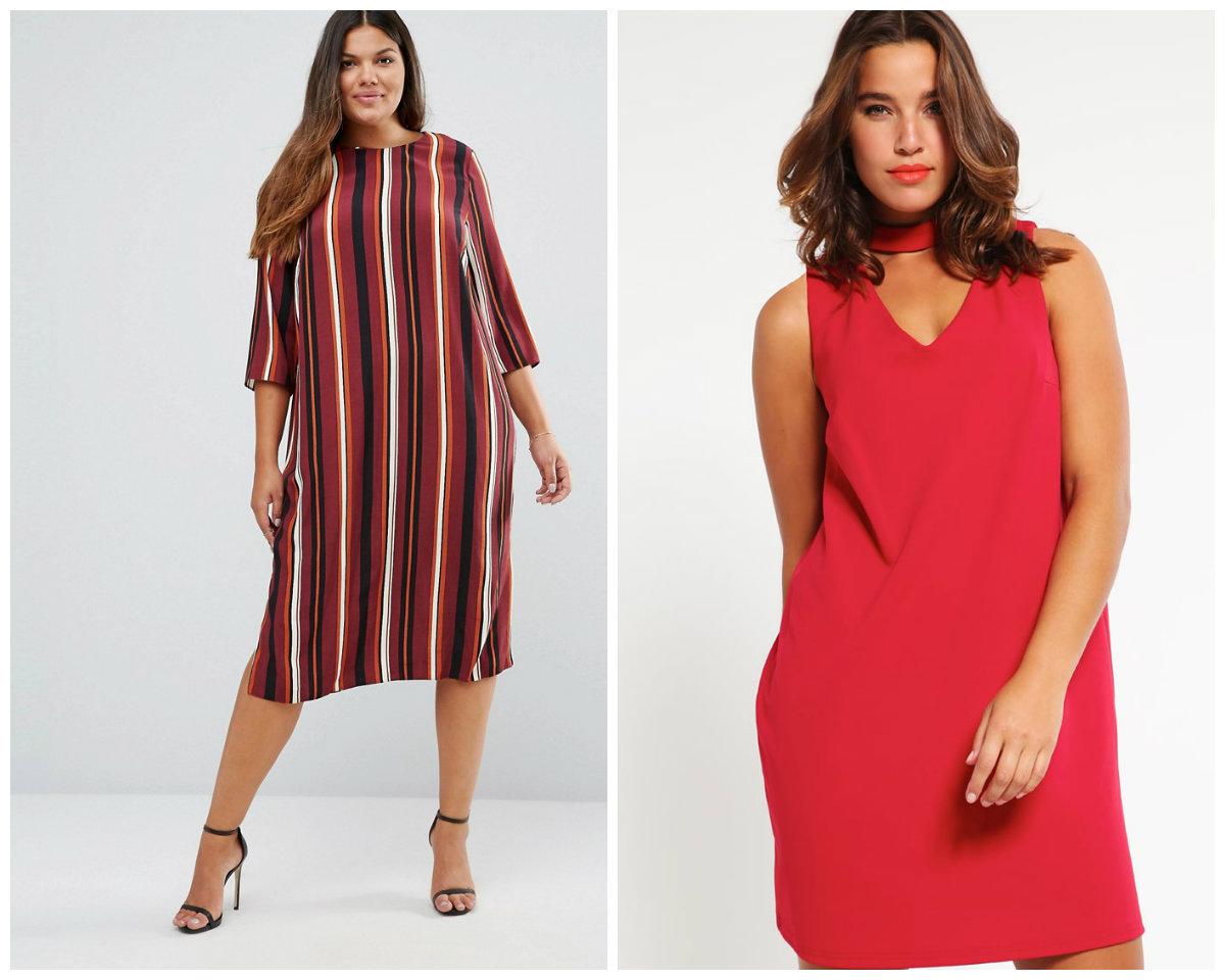 a958eb142e Modne sukienki dla puszystych z jesiennych kolekcji - Claudia
