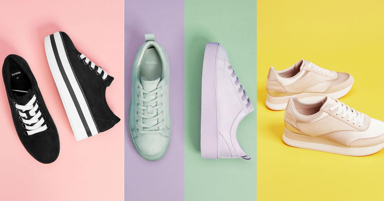 Modne sneakersy wiosna 2018 Modne sneakersy na wiosnę 2018