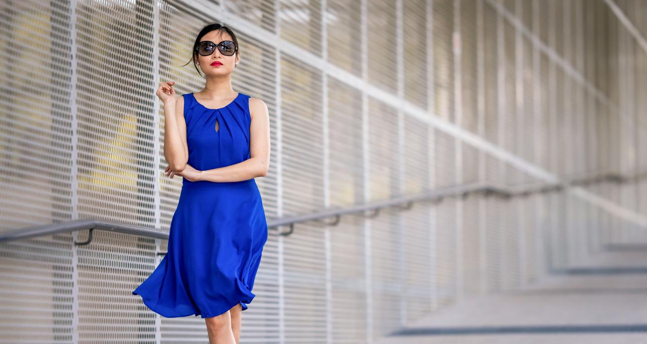 Najlepsze Dodatki Do Chabrowej Sukienki Claudia Pl